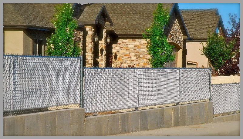 is designed to provide an economic form of privacy and decorative color to the structure stability and longevity of a chainlink fence ridged slat is - Chain Link Fence Slats